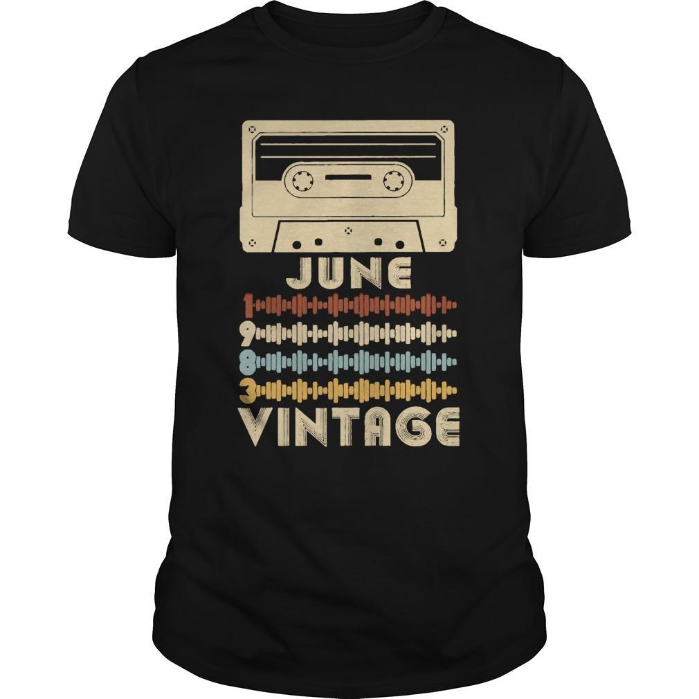 Retro Music June Vintage Longsleeve