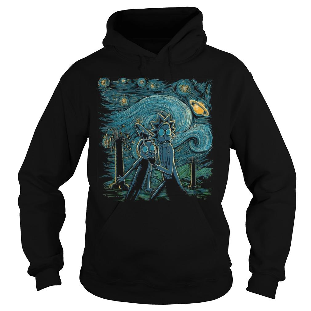 Rick And Morty Horror Night Hoodie