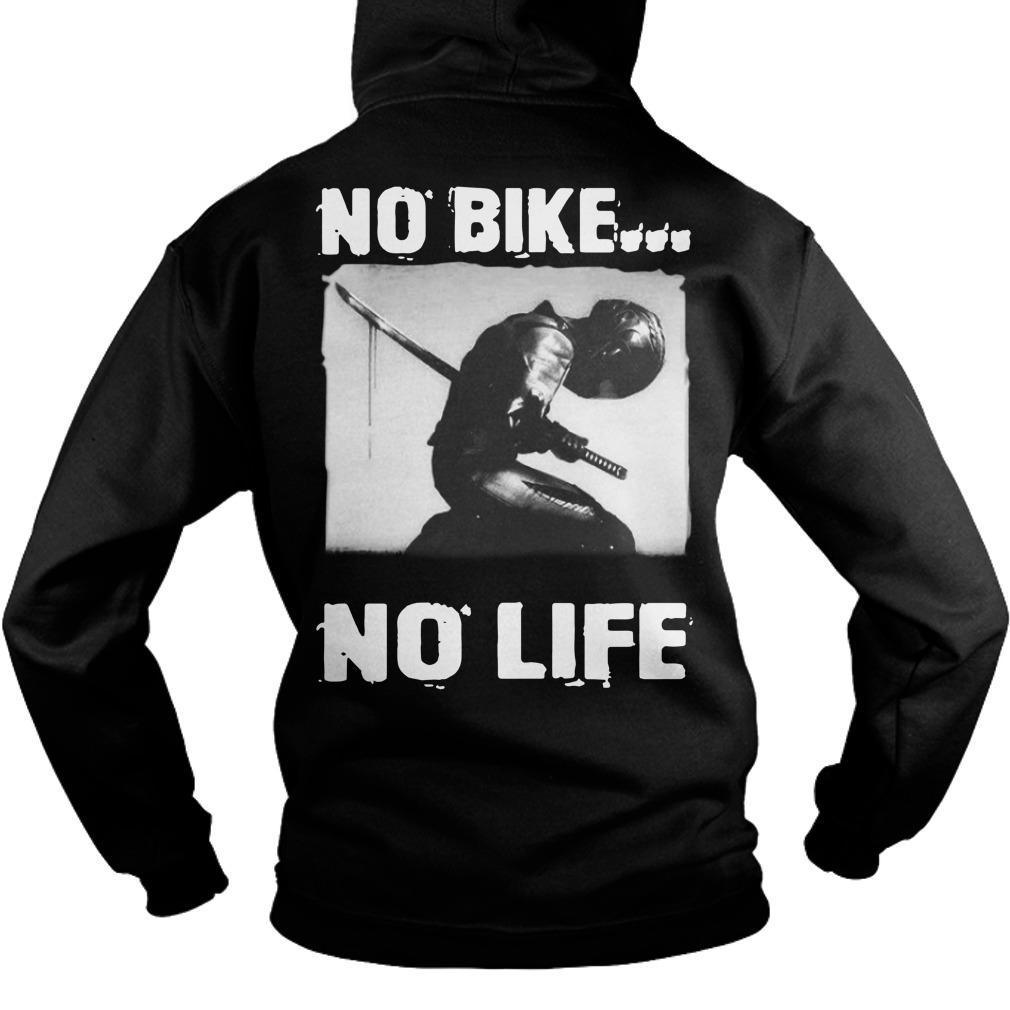 Samurai Death No Bike No Life Hoodie
