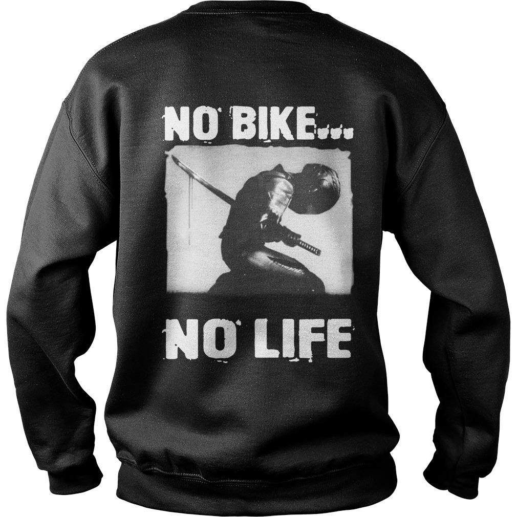 Samurai Death No Bike No Life Sweater
