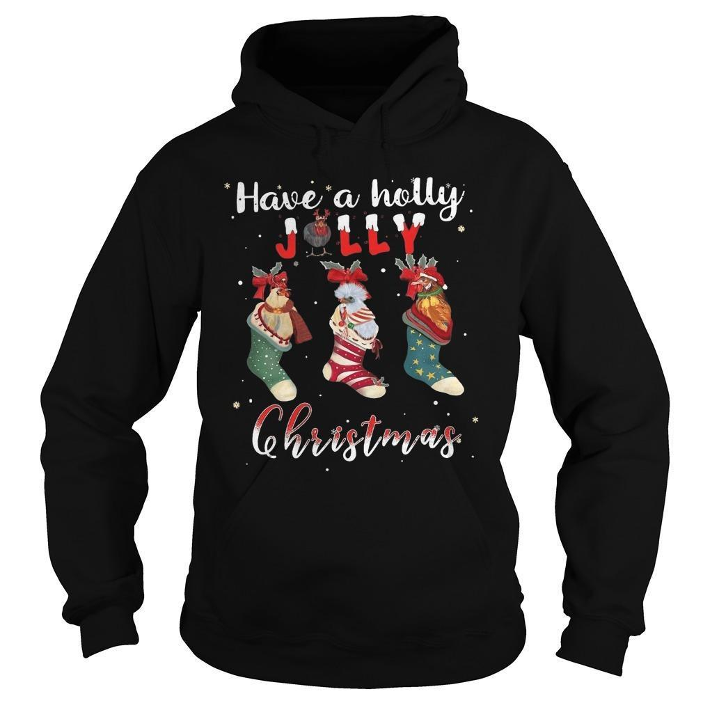 Santa Shoes Have A Holly Jolly Christmas Hoodie