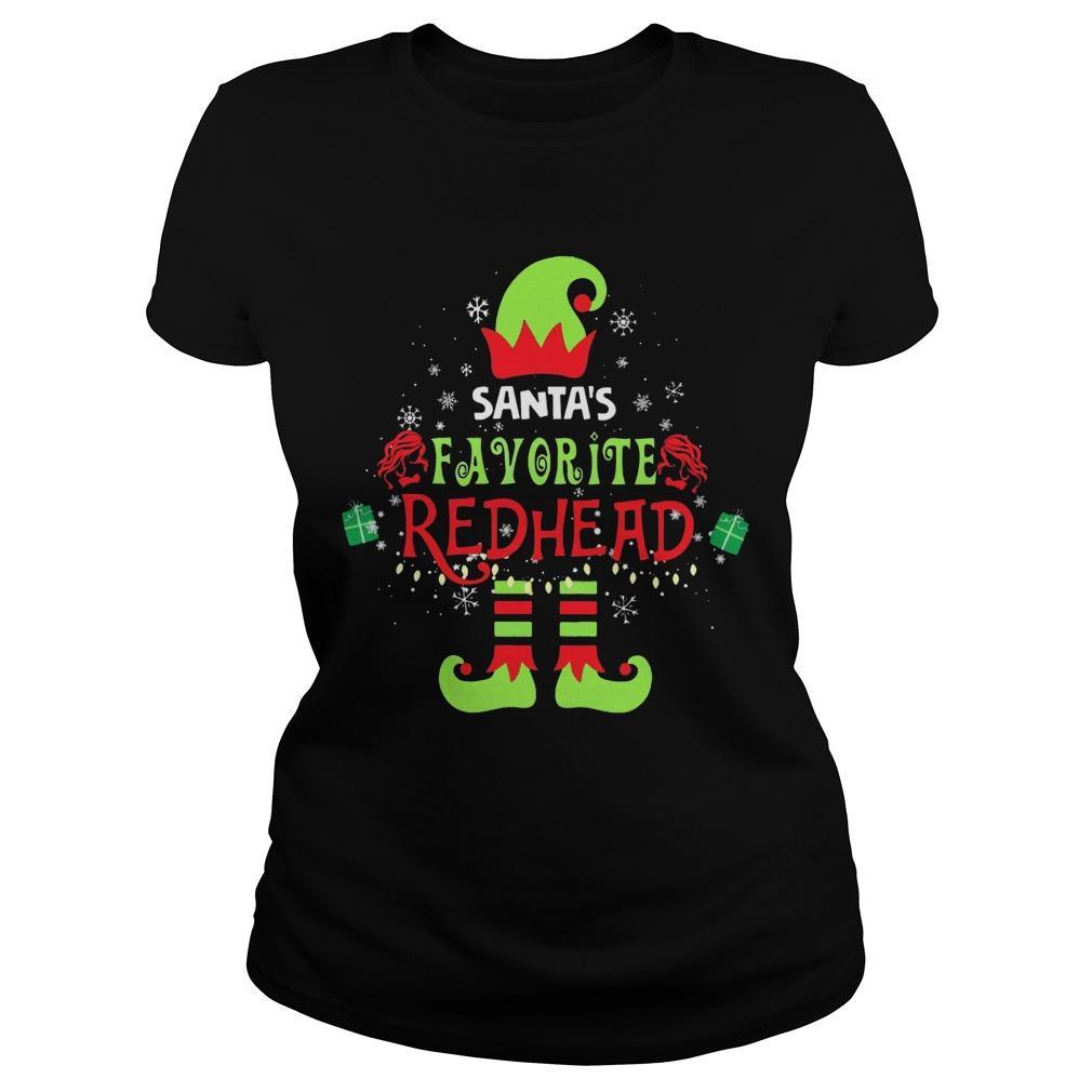 Santa's Favorite Redhead Longsleeve