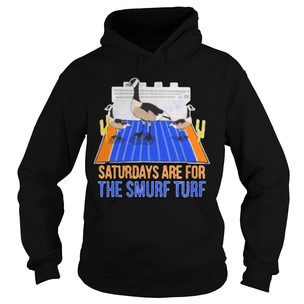 Saturdays Are For The Smurf Turf Hoodie