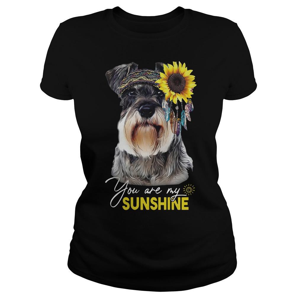 Schnauzer You Are My Sunshine Longsleeve