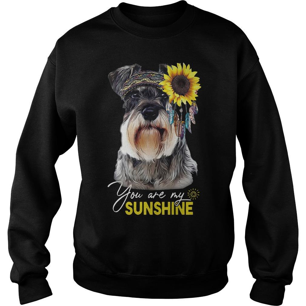 Schnauzer You Are My Sunshine Sweater