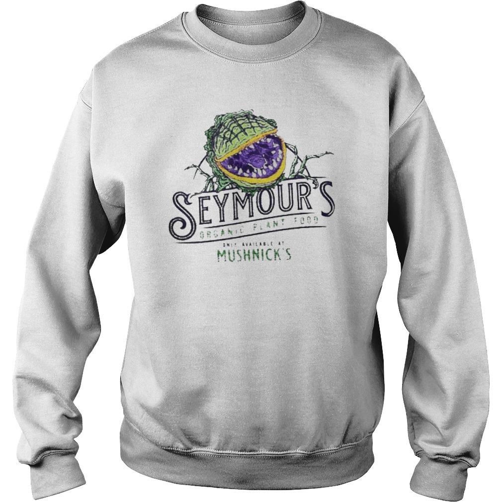 Seymour's Organic Plant Food Only Available At Mushnick's Sweater