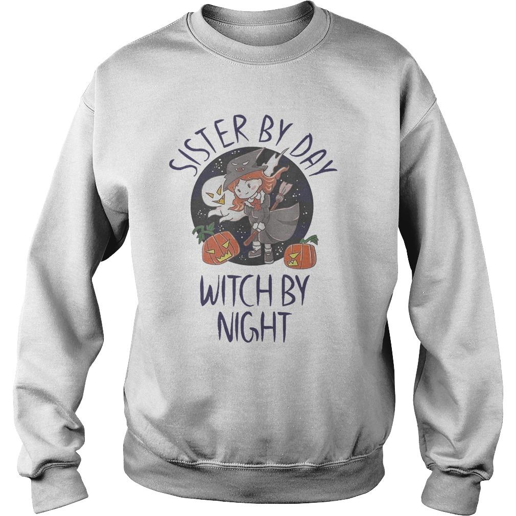 Sister By Day Witch By Night Sweater