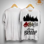 Snowmobile Merry Braaap Shirt