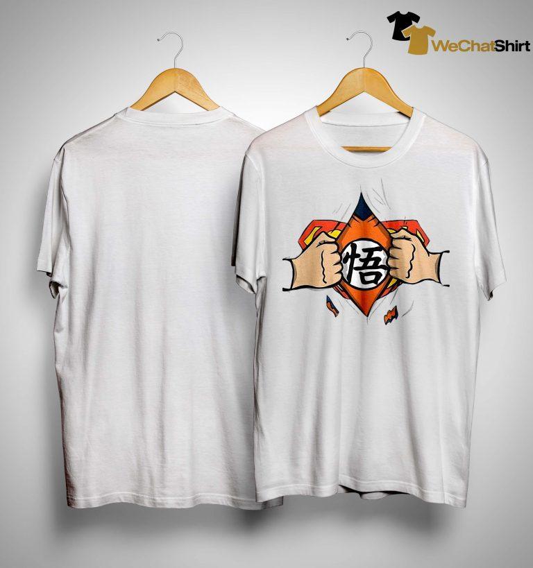 Son Goku And Superman Shirt