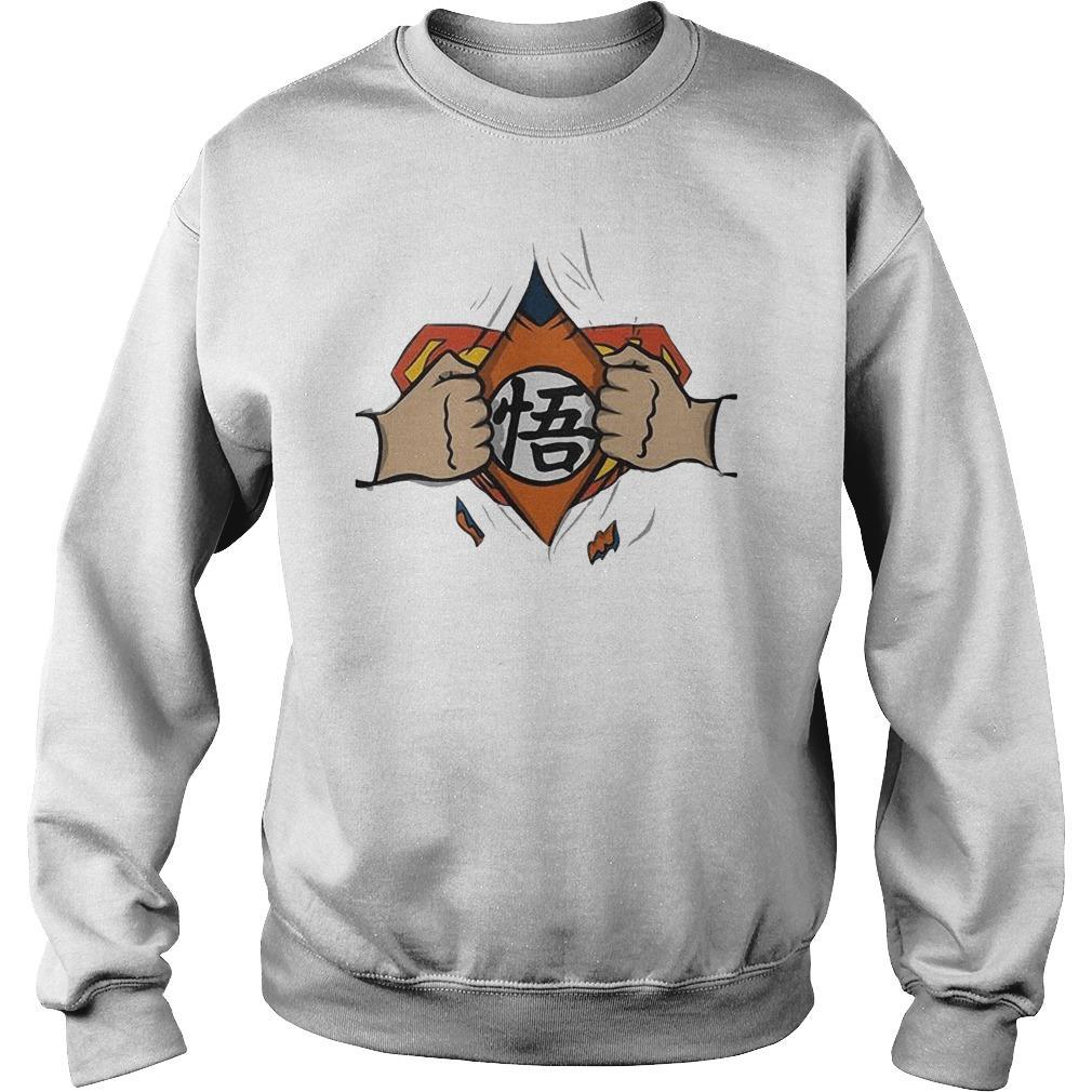 Son Goku And Superman Sweater