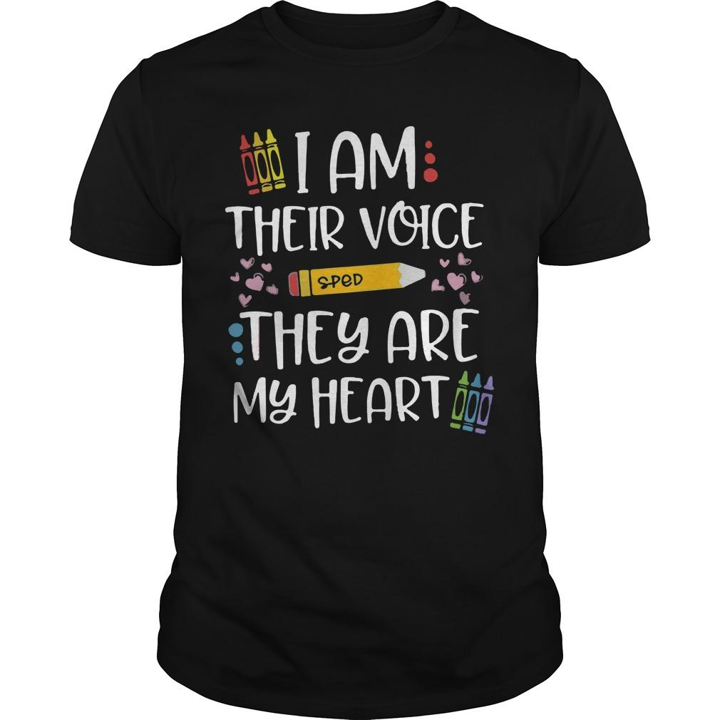 Sped I Am Their Voice They Are My Heart Longsleeve