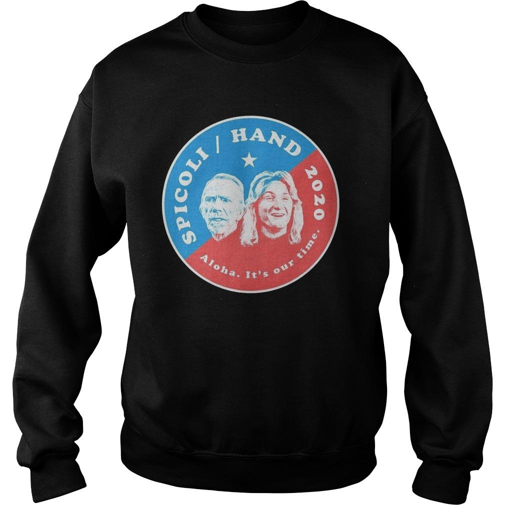 Spicoli Hand Aloha It's Our Time 2020 Sweater