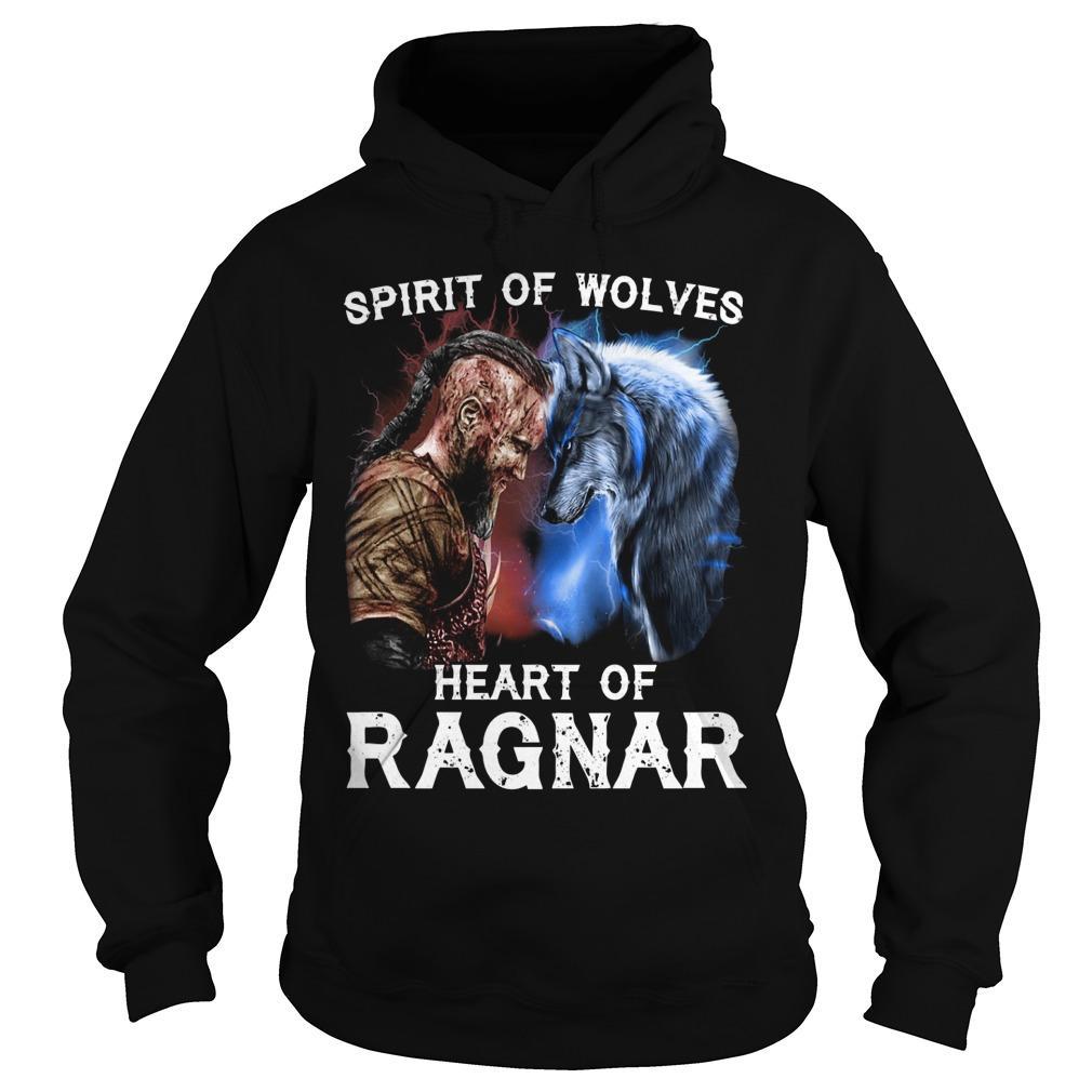 Spirit Of Wolves Heart Of Ragnar Hoodie
