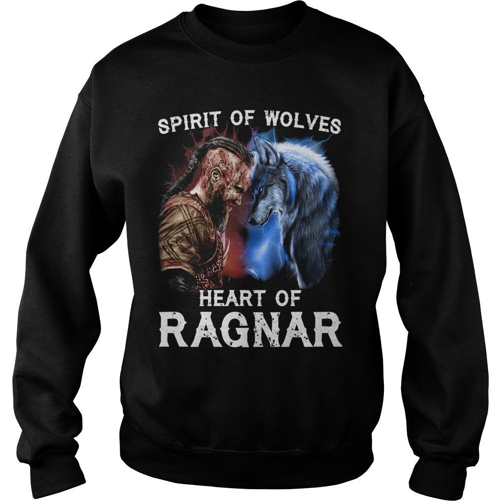 Spirit Of Wolves Heart Of Ragnar Sweater