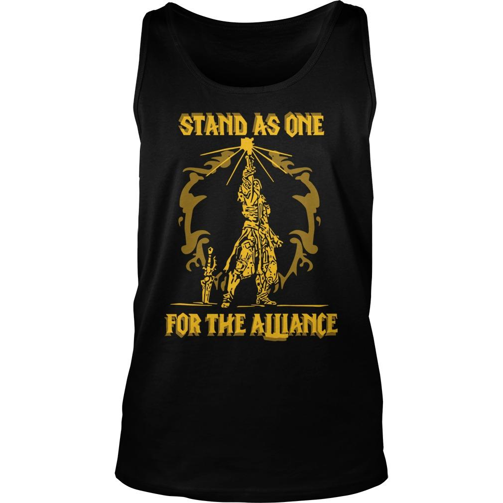 Stand As One For The Alliance Tank Top