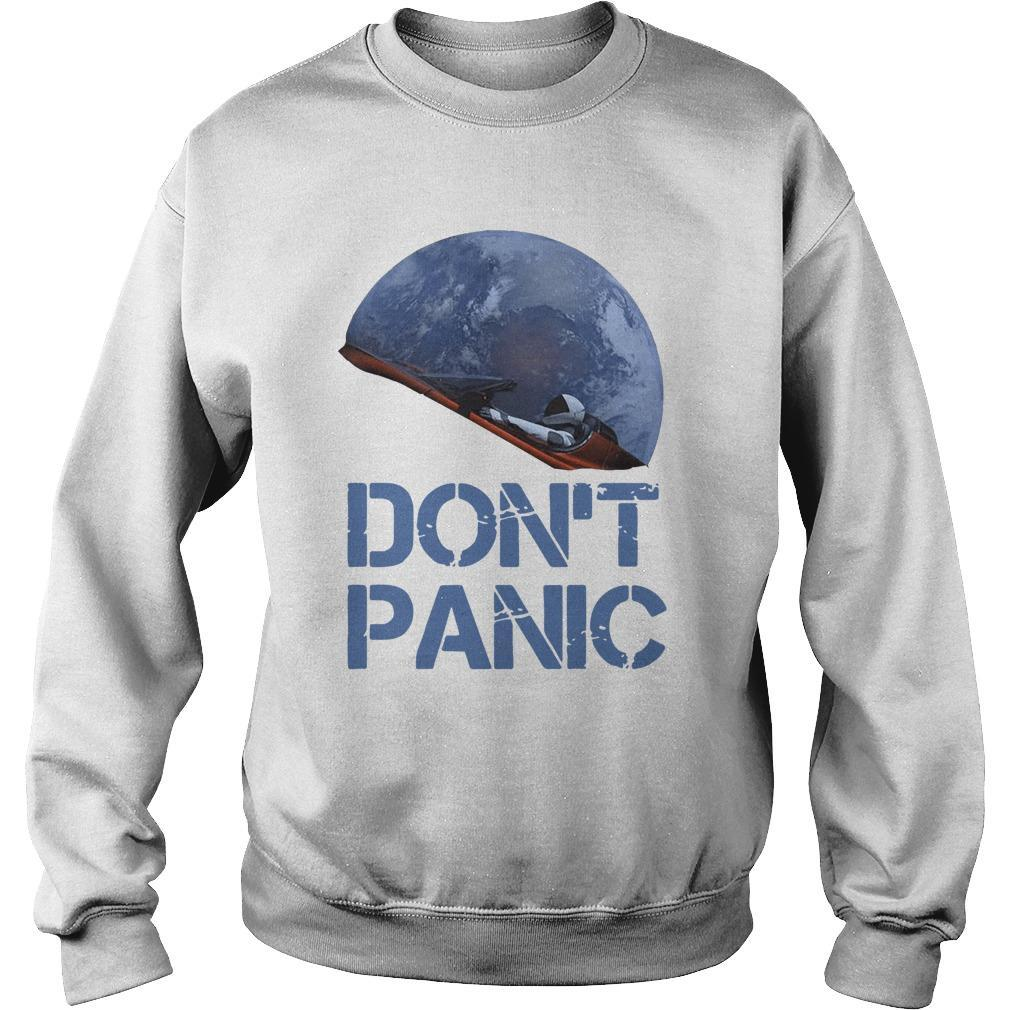 Starman Essential Don't Panic Sweater