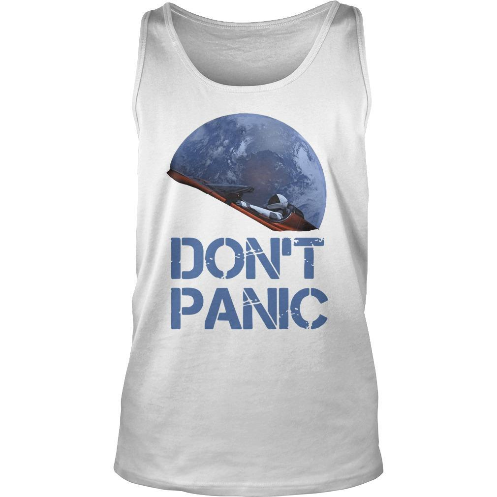 Starman Essential Don't Panic Tank Top