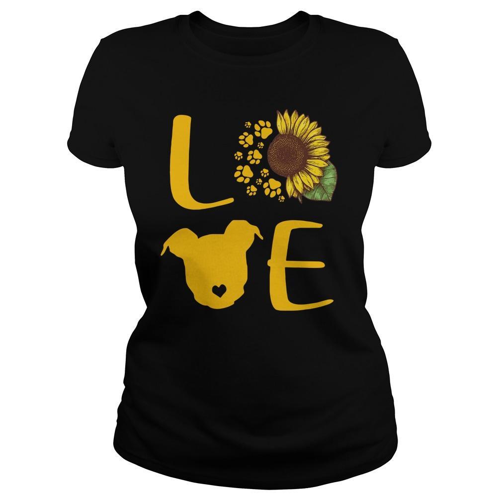 Sunflower Pitbull Love Longsleeve