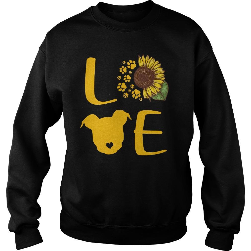 Sunflower Pitbull Love Sweater