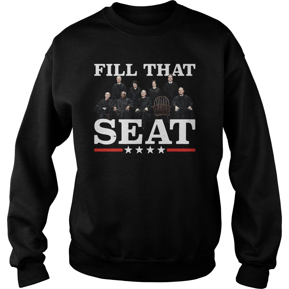 Supreme Court Justices Fill That Seat Sweater