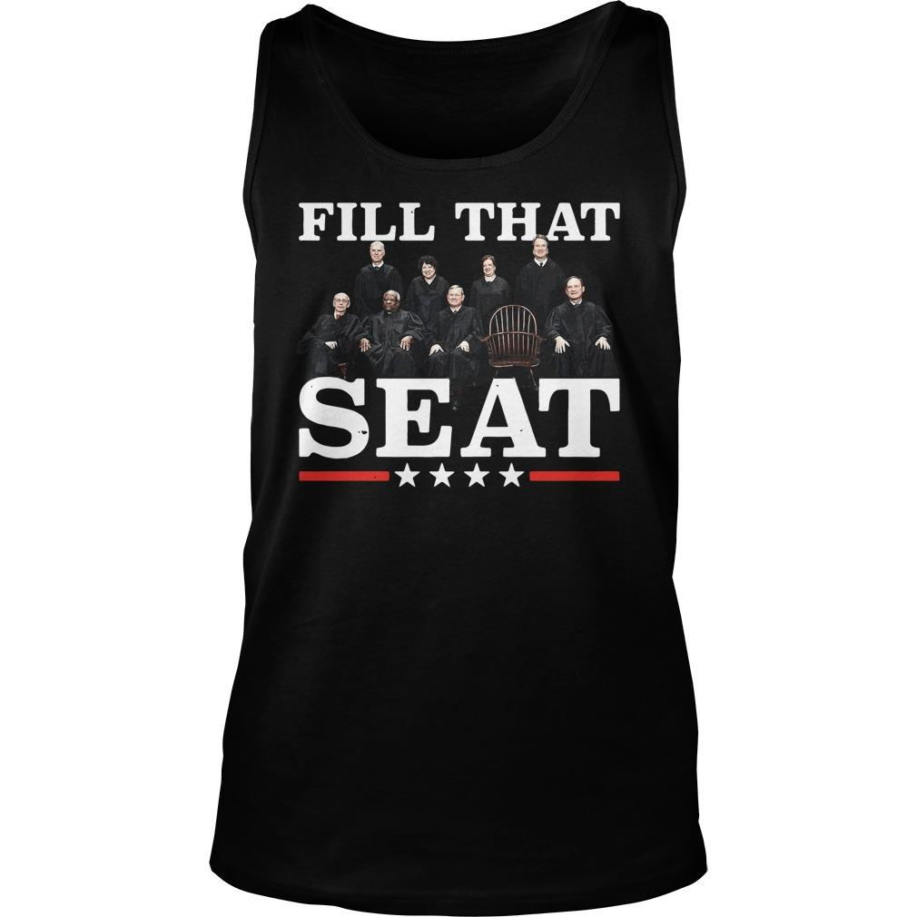 Supreme Court Justices Fill That Seat Tank Top