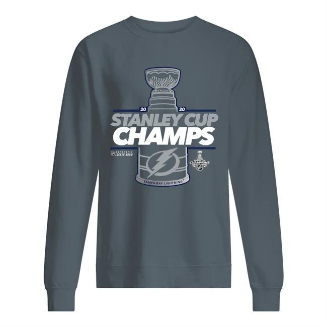 Tampa Bay Lightning Stanley Cup Sweater