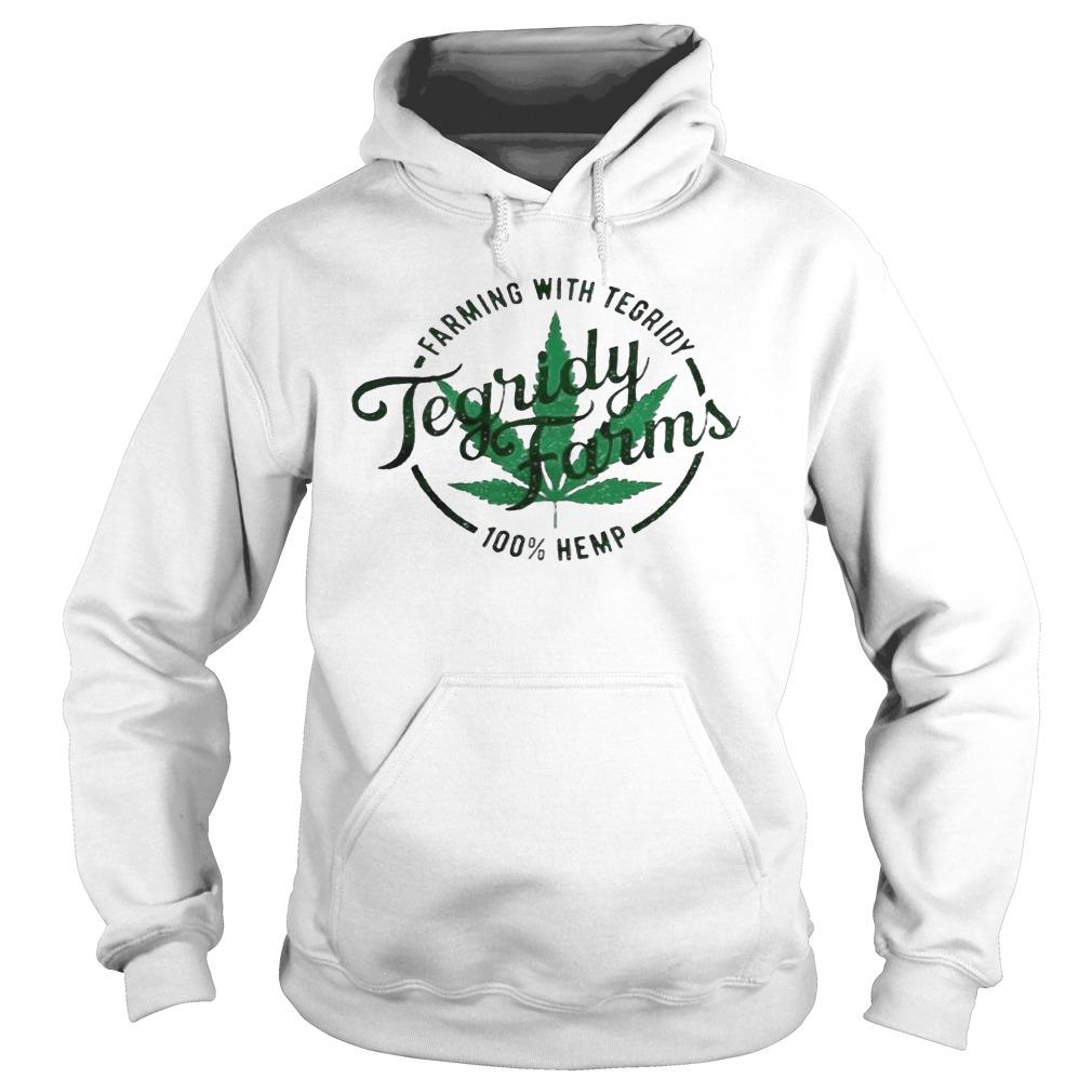 Tegridy Farms Farming With Tegridy 100 Hemp Hoodie