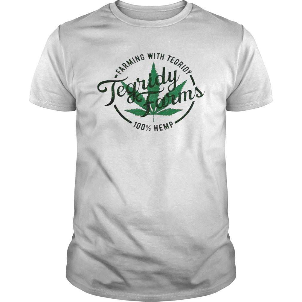 Tegridy Farms Farming With Tegridy 100 Hemp Longsleeve