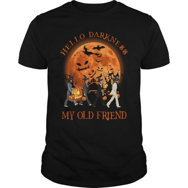 The Beatles Halloween Hello Darkness My Old Friend Shirt