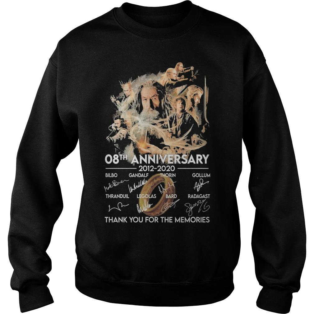 The Desolation Of Smaug 08th Anniversary Thank You For The Memories Sweater
