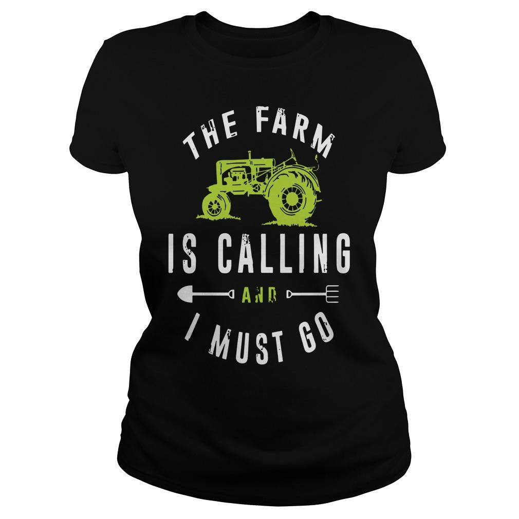 The Farm Is Calling And I Must Go Longsleeve