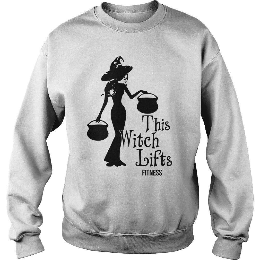 This Witch Lifts Fitness Sweater