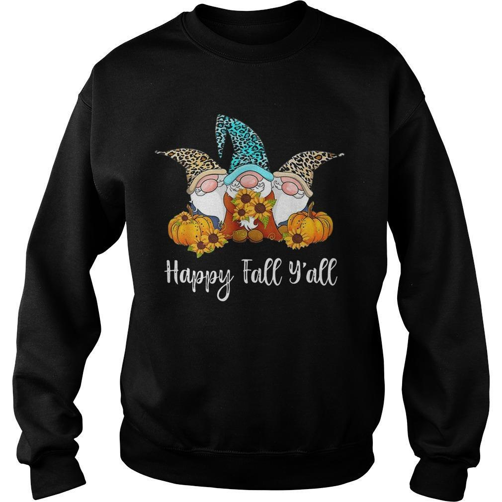 Three Gnomes Happy Fall Y'all Sweater