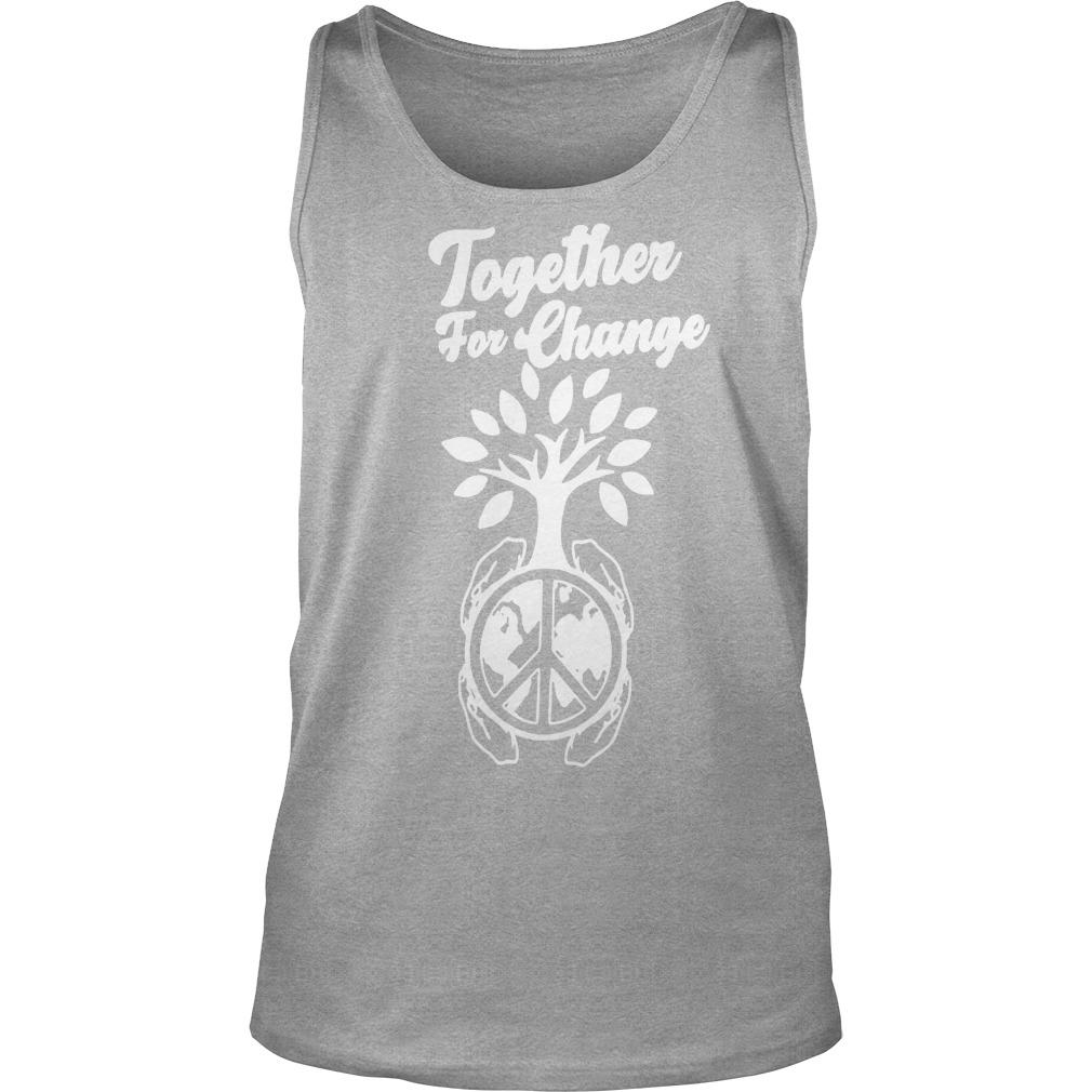 Together For Change Tank Top