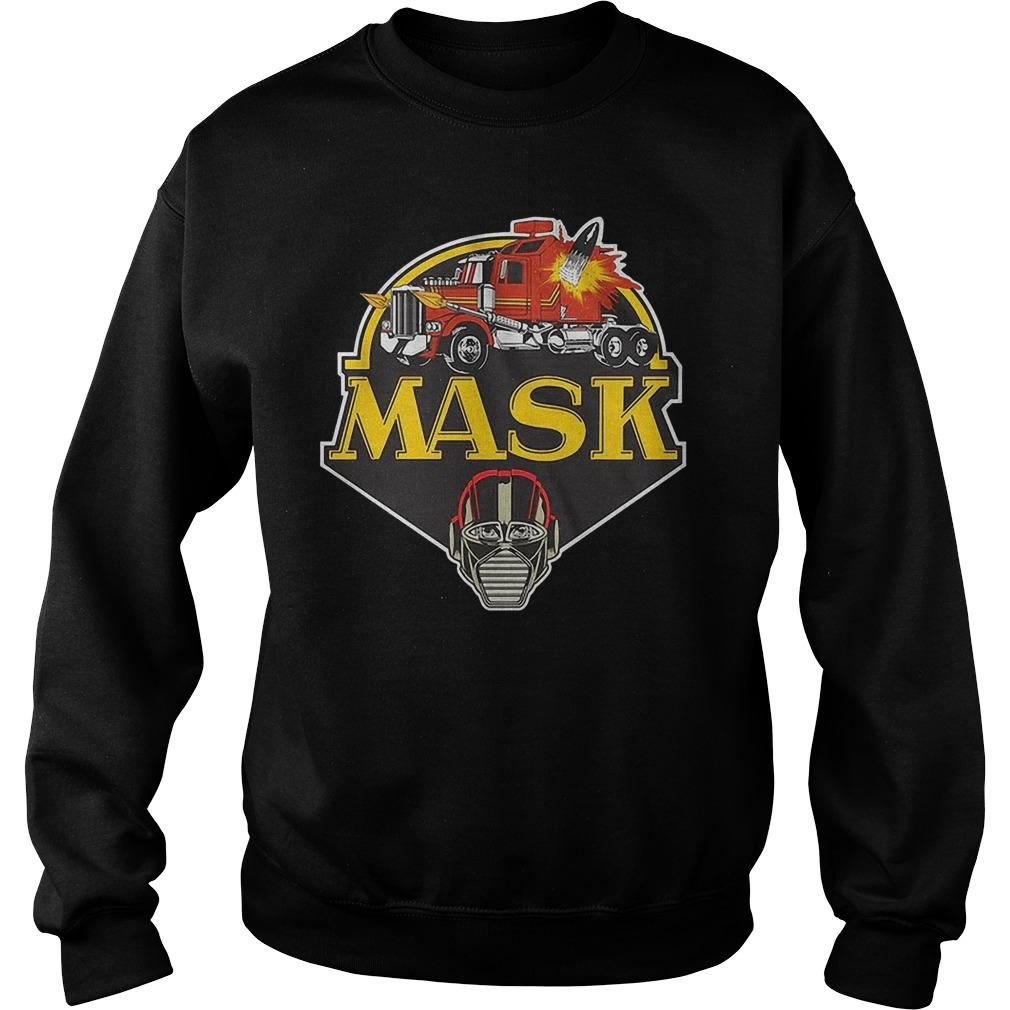 Truck Mask Sweater