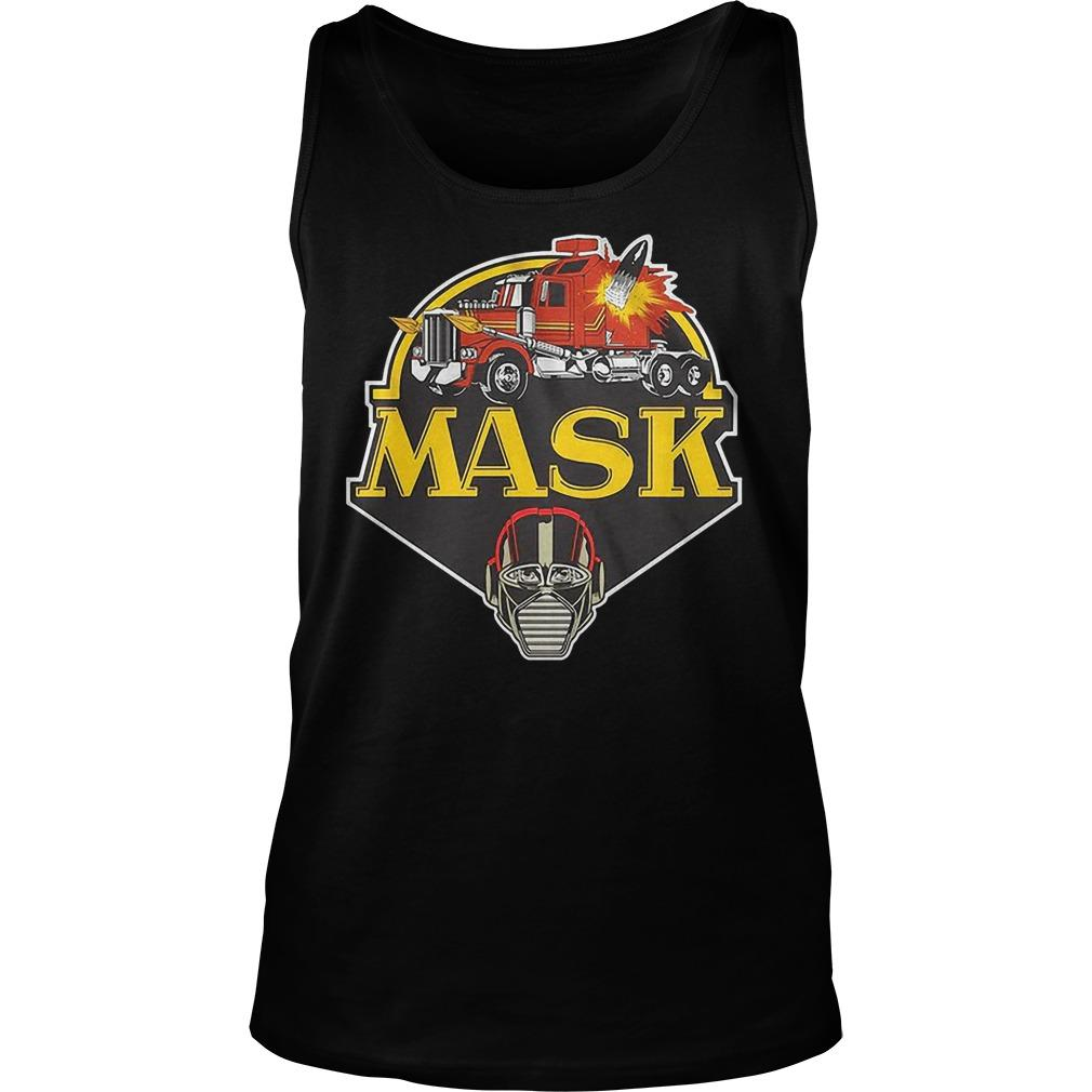 Truck Mask Tank Top