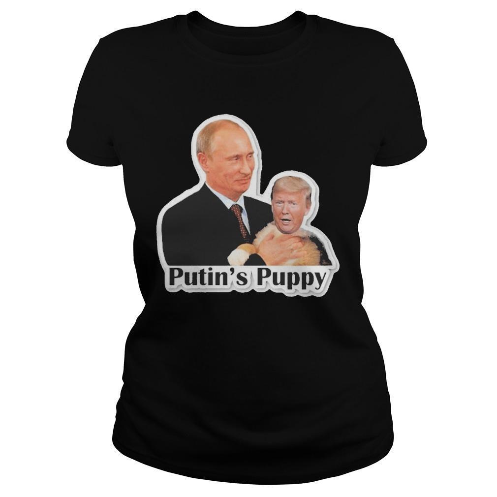 Trump Putin's Puppy Hoodie