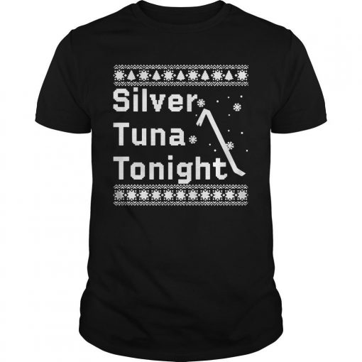 Ugly Christmas Silver Tuna Tonight Shirt