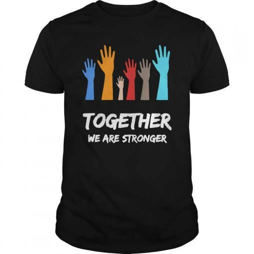 Usa Blm Together We Are Stronger Shirt