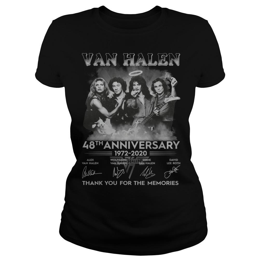 Van Halen 48th Anniversary Thank You For The Memories Longsleeve