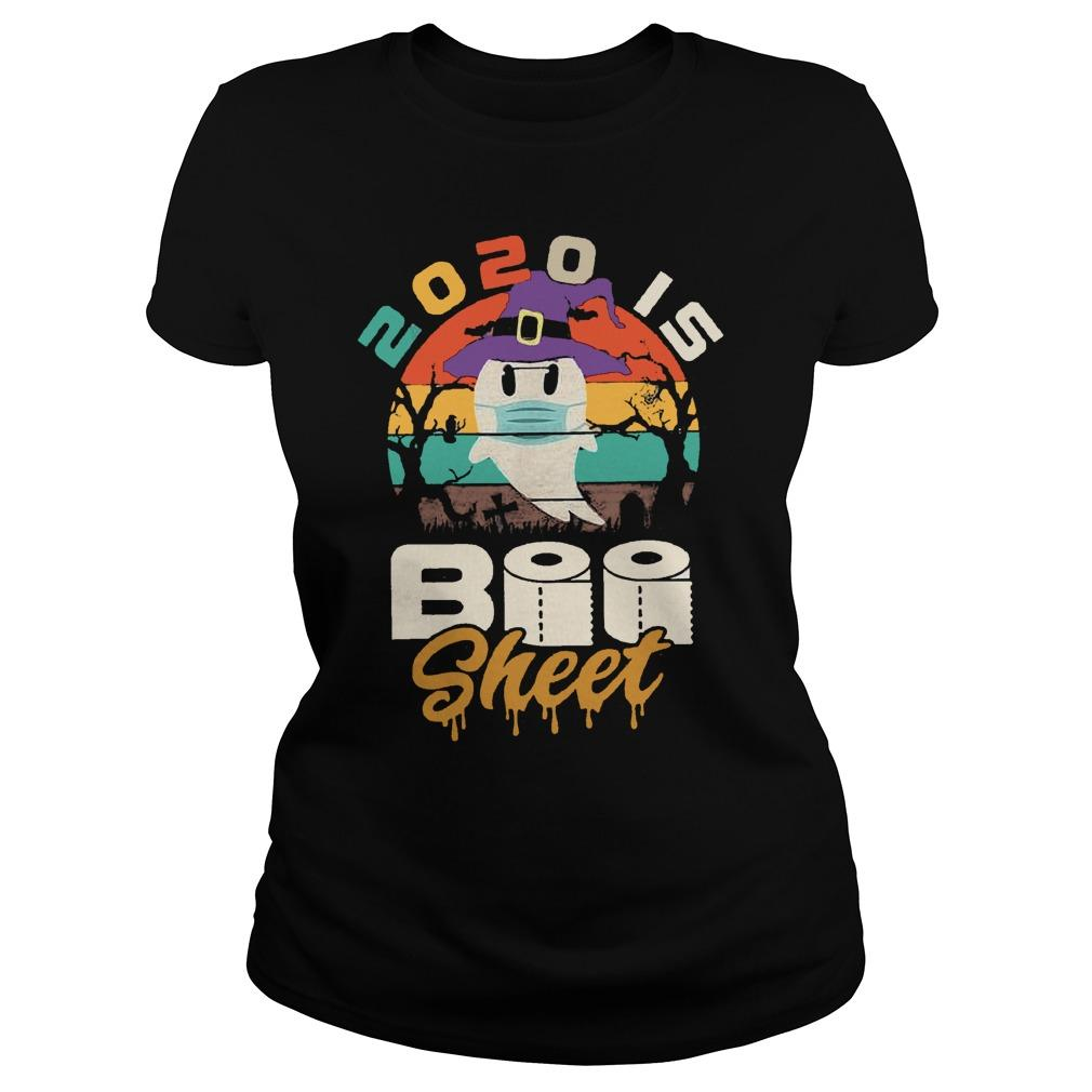 Vintage 2020 Is Boo Sheet Longsleeve