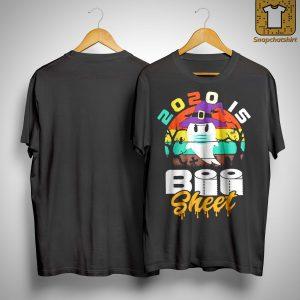 Vintage 2020 Is Boo Sheet Shirt