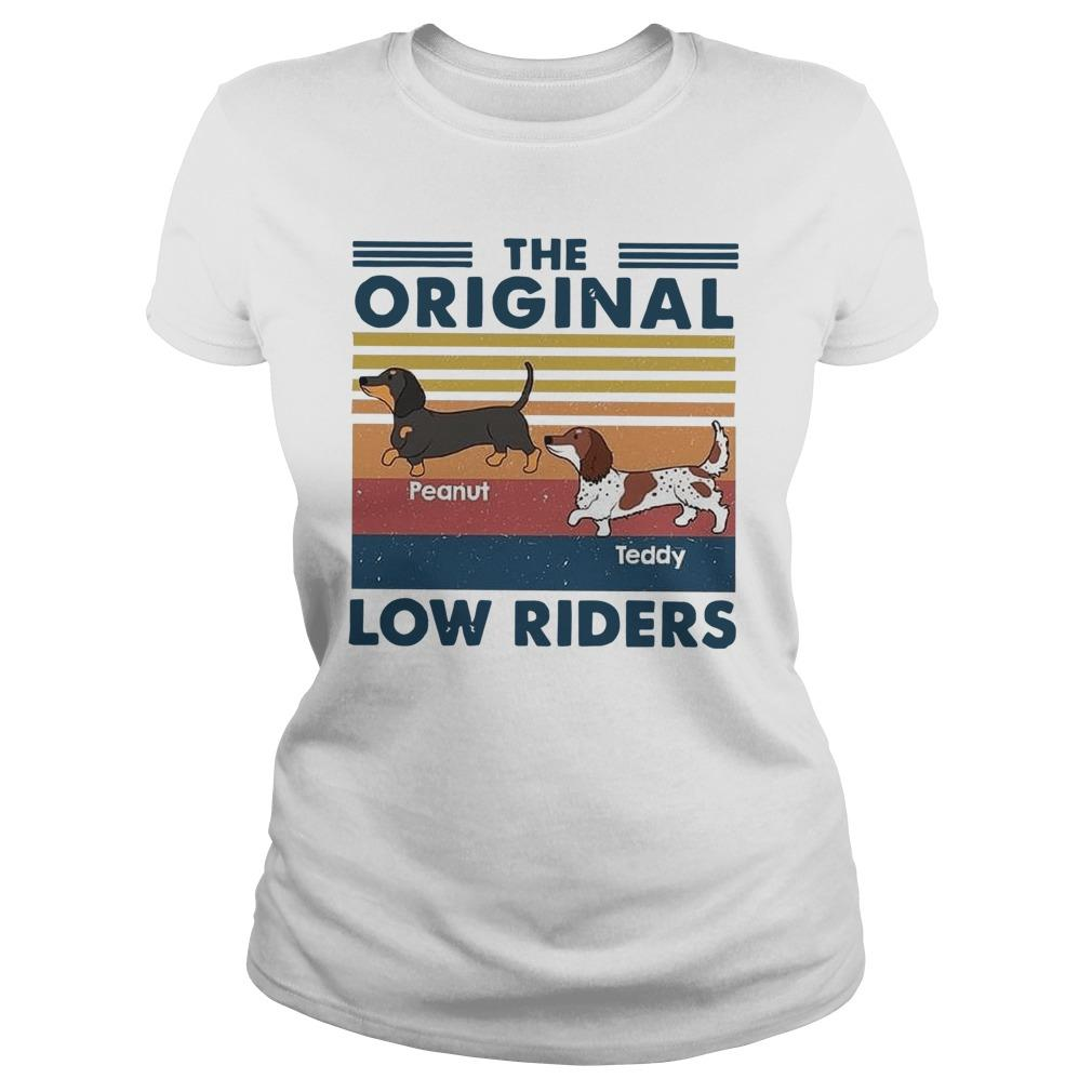 Vintage Dachshund The Original Low Riders Tank Top