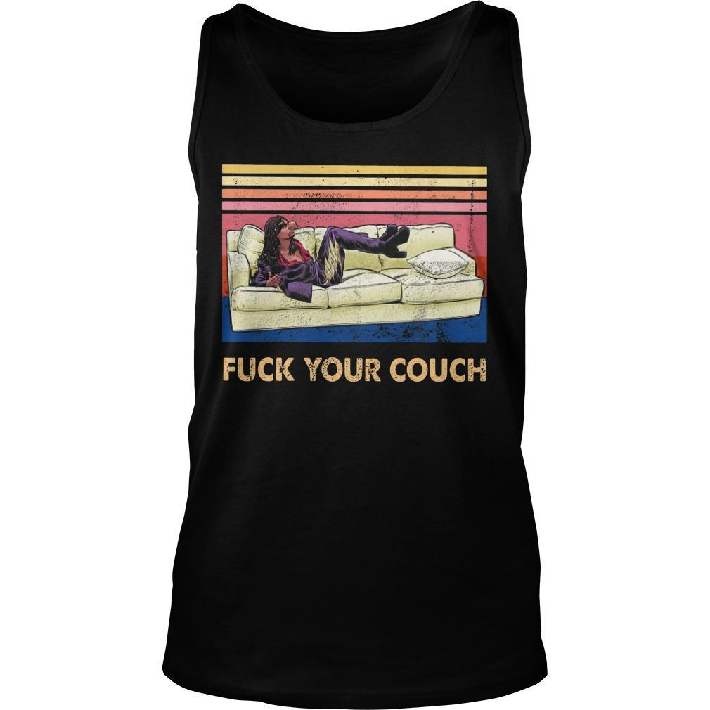 Vintage Fuck Your Couch Tank Top