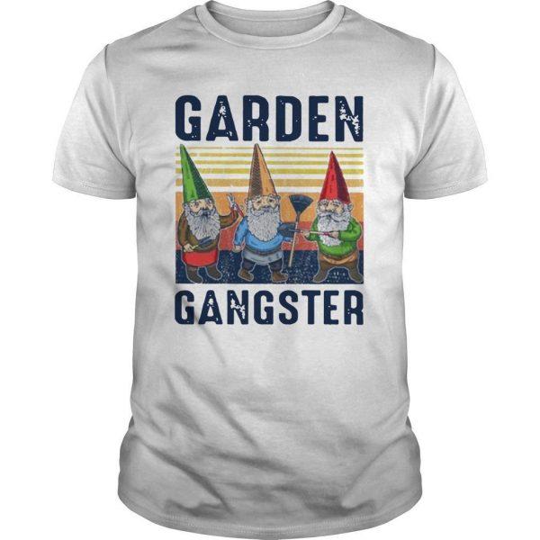 Vintage Gnomes Garden Gangster Shirt