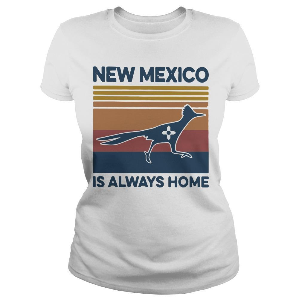 Vintage New Mexico Is Always Home Longsleeve