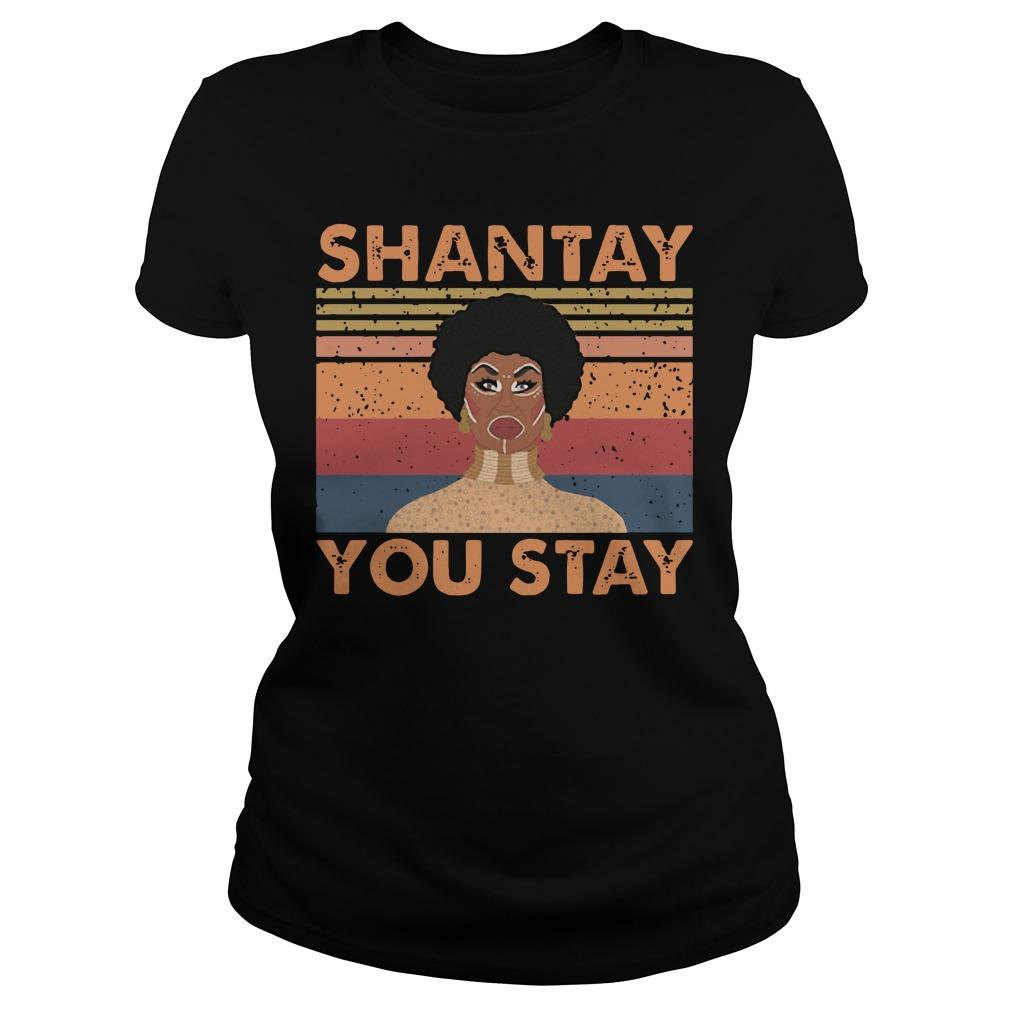 Vintage Shantay You Stay Longsleeve