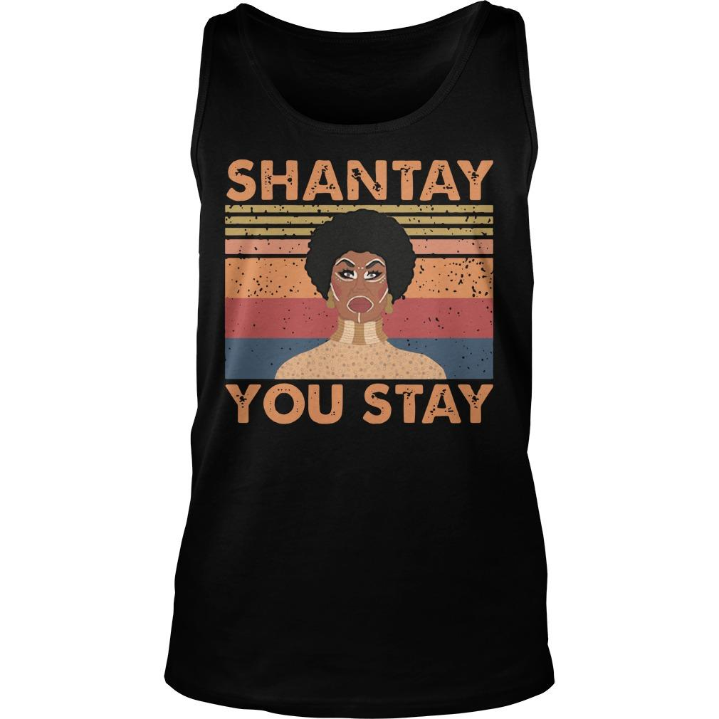 Vintage Shantay You Stay Tank Top