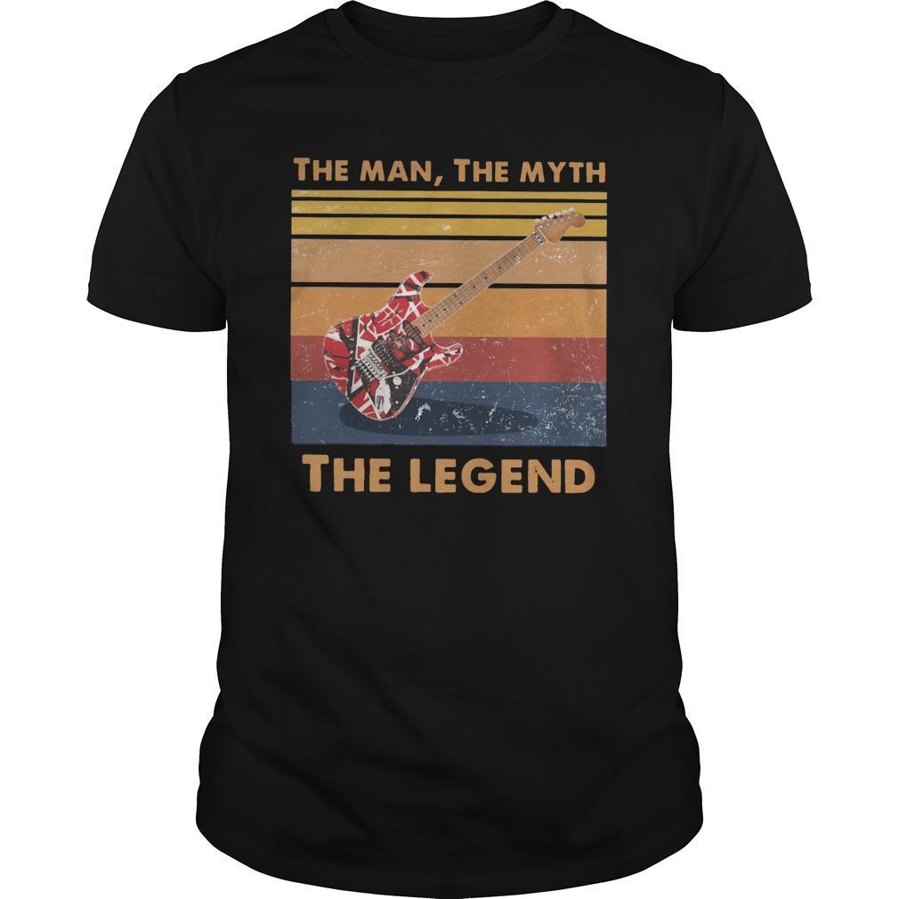 Vintage Van Halen Guitar The Man The Myth The Legend Longsleeve