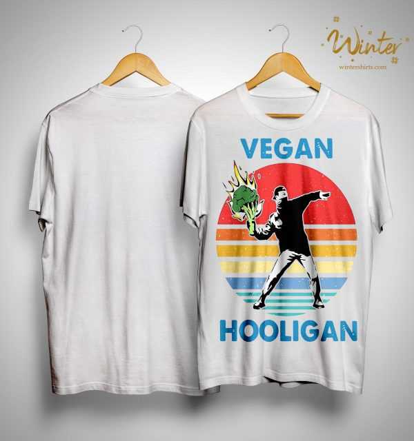 Vintage Vegan Hooligan Shirt